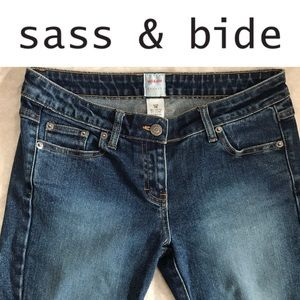 Sass & Bide Sydney Skinny Blue Jeans